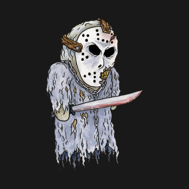 Jason Voorhees, Friday the 13th - Horror Hand Puppet