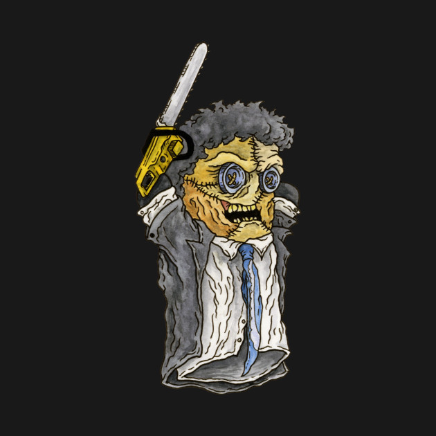 Leatherface, Texas Chainsaw Massacre - Horror Hand Puppet