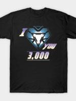 Love You 3,000 T-Shirt