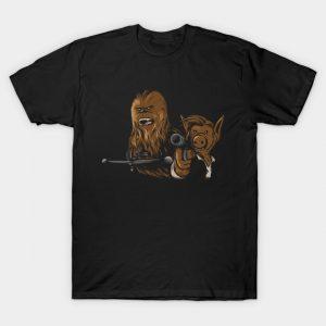 Alf Solo and friend