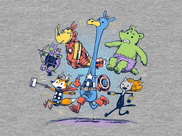 Animals Avengers Assemble!