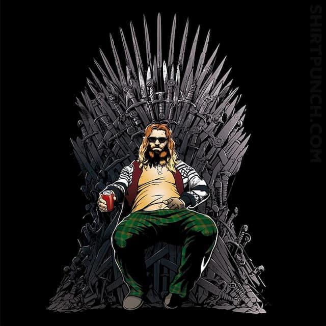 Thor on the Iron Throne