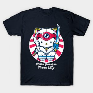 Hello Samurai Pizza Kitty T-Shirt