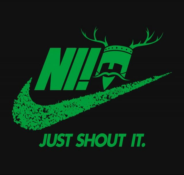 Ni! Just Shout It