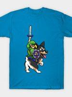 Link Riding a Corgi T-Shirt