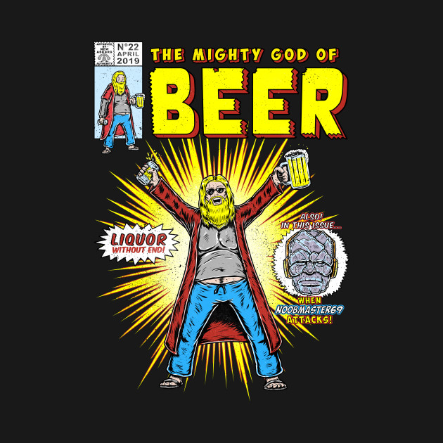 Mighty God Of Beer