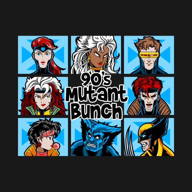 90s Mutant Bunch