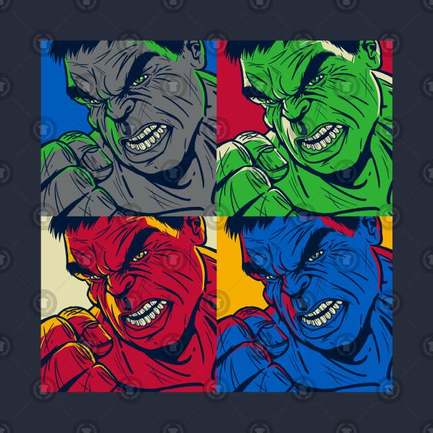 Hulk Pop Art