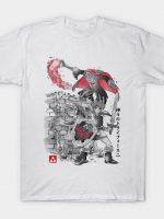 Between Worlds Sumi-e T-Shirt
