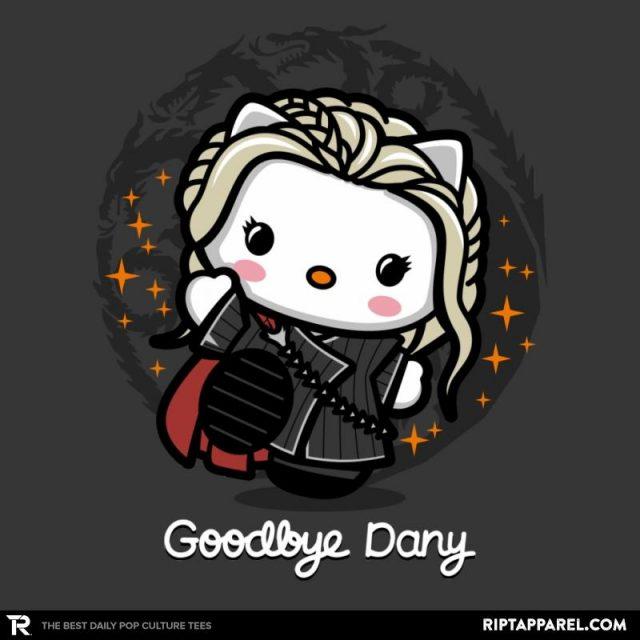 Daenerys Targaryen/Hello Kitty Mashup