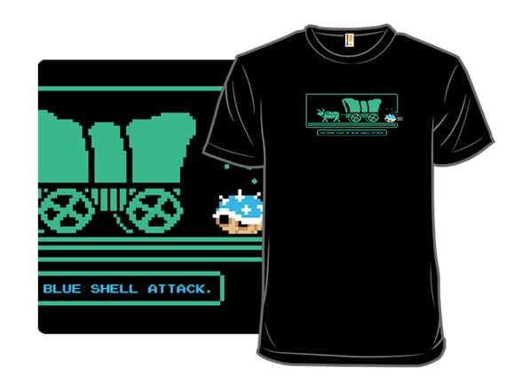 Oregon Trail Mario Kart T-Shirt