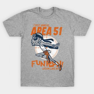 1st annual Area 51 fun run T-Shirt