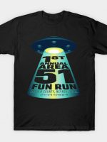 Area 51 Fun Run T-Shirt