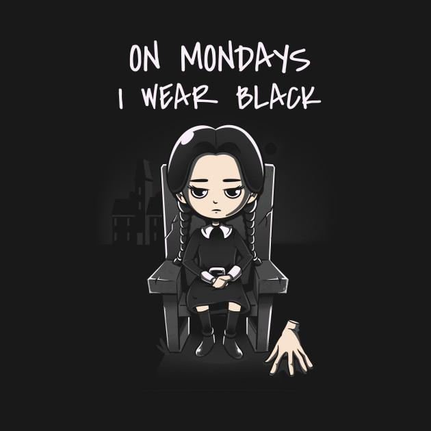 On Mondays I Wear Black