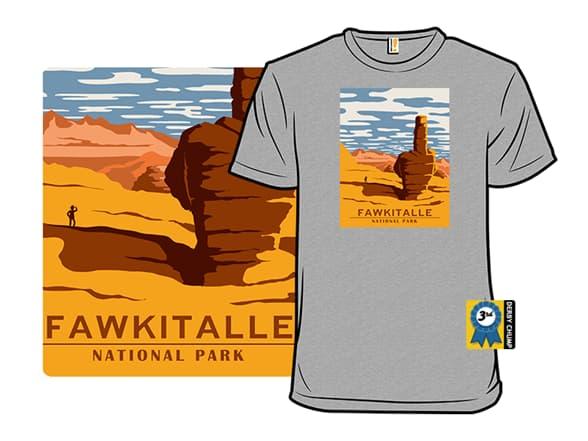 Fawkitalle National Park T-Shirt