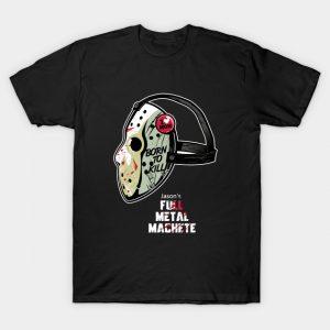 Full Metal Machete Jason Voorhees T-Shirt