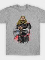 God of Thunder Watercolor T-Shirt