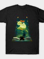 Jurassic Book T-Shirt
