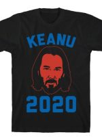 KEANU 2020 WHITE PRINT T-Shirt