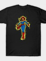 Old West Captain Marvel T-Shirt
