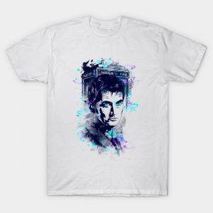 Watercolor Tenth Doctor T-Shirt