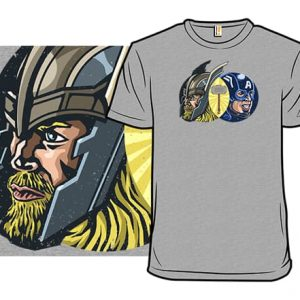 Thor and Captain America T-Shirt