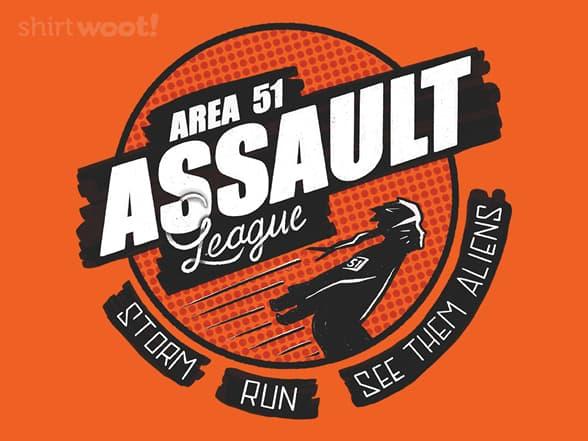 Area 51 Assault League