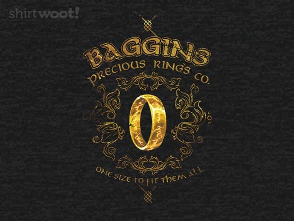 Baggins Precious Rings