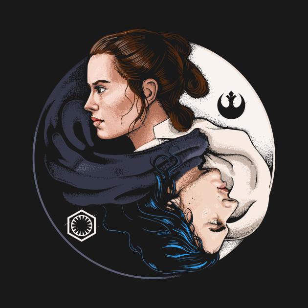 Kylo Ren and Rey