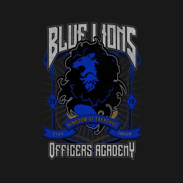 Blue Lions Crest
