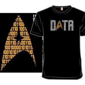 Star Trek Data T-Shirt