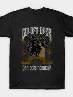 Golden Deer Crest T-Shirt