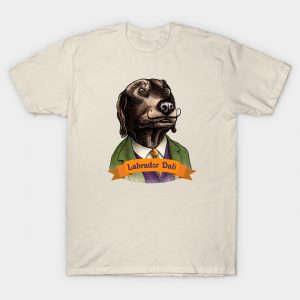 Labador Dali T-Shirt