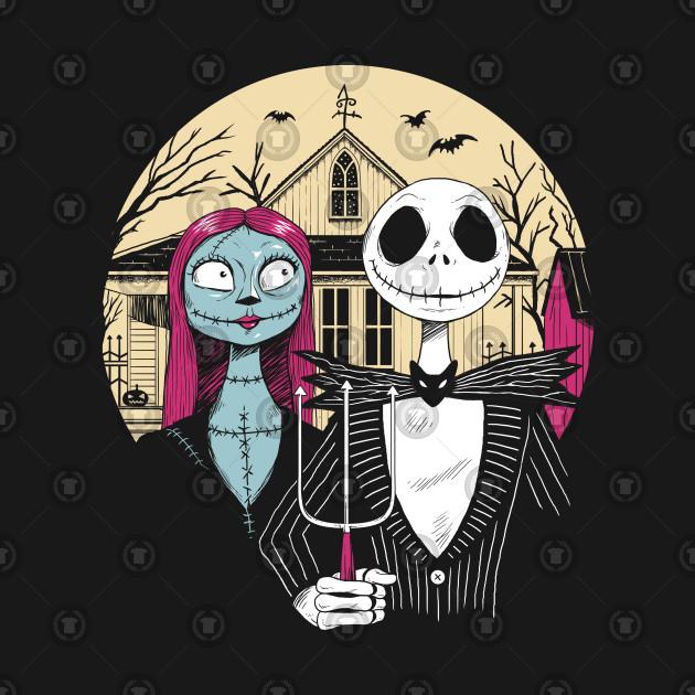 Jack Skellington and Sally Frankenstein