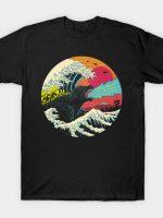 Retro Wave Kaiju T-Shirt