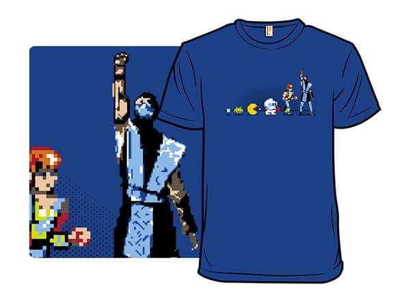 Eight-bit Evolution T-Shirt