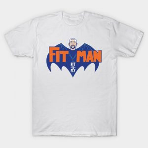 Fit Man on Batman - Kevin Smith T-Shirt