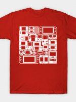 Handheld Mode (White Ver.) T-Shirt