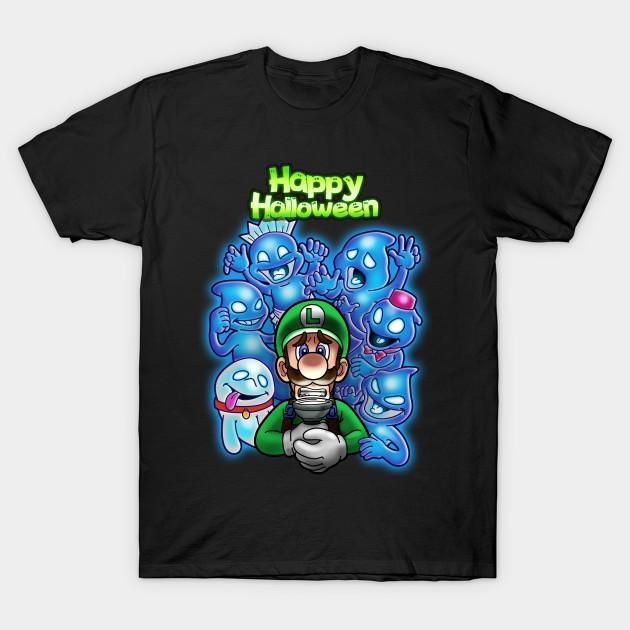 Luigi Halloween T-Shirt