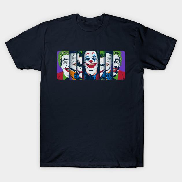 Joker Faces T-Shirt