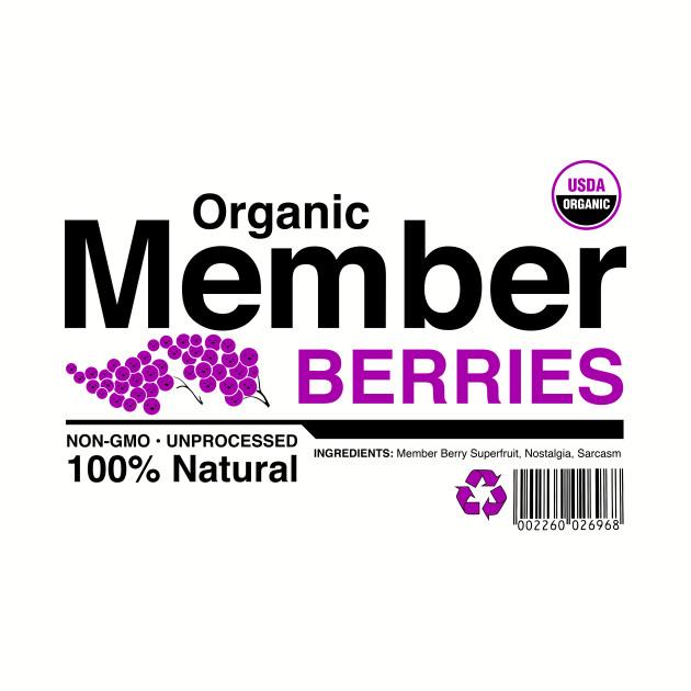 Organic Member Berries