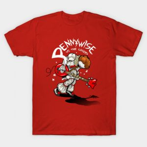 Pennywise versus the losers T-Shirt
