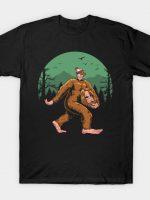 Where is Bigfoot T-Shirt