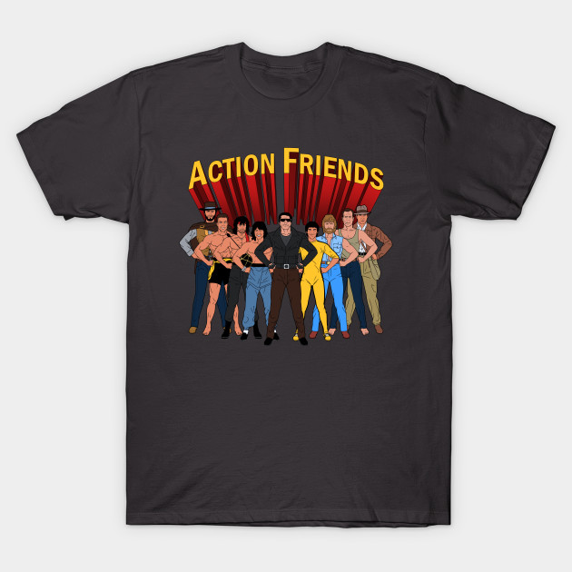 Action Friends T-Shirt