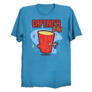 Captain's Log T-Shirt
