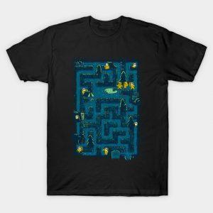 Crystal Lake Maze T-Shirt