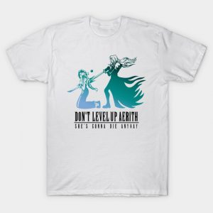 Don't Level Up Aerith - Spoiler T-Shirt