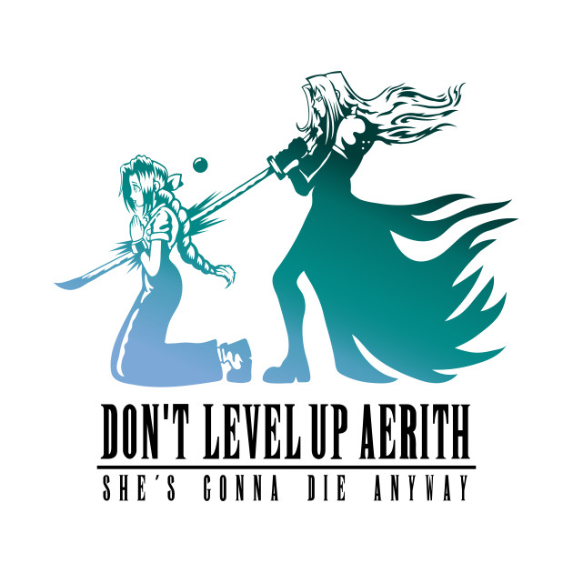 Don't Level Up Aerith - Spoiler