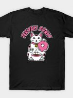 Donuts cat logo T-Shirt