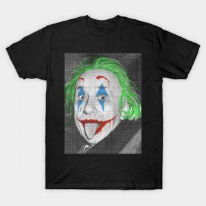 Joker/Albert Einstein T-Shirt